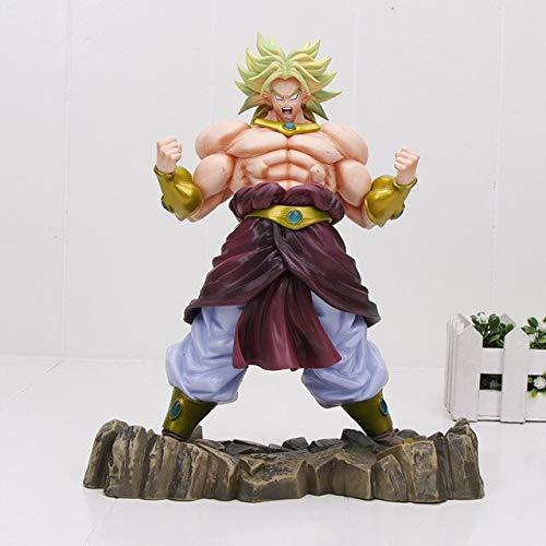 "New 9/"" Dragon Ball Dragonball Z Blue Super Saiyan Broly Broli Figure Statue Toy"