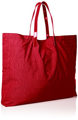 Armani Jeans Damen 922552CC861 Shopper, 55x40x9 cm Rot (Tango Red 17574)