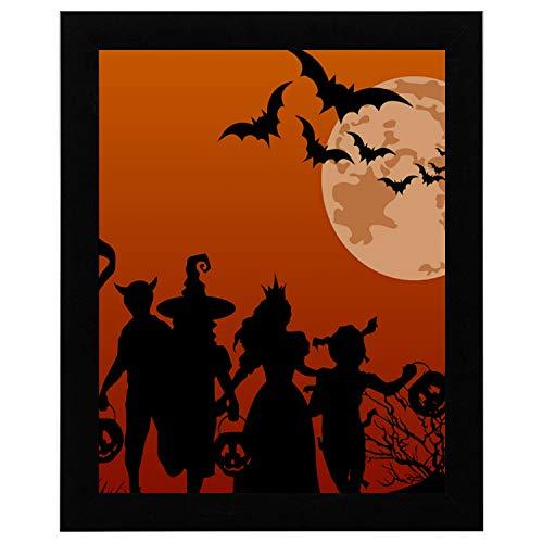 A Wall Art Painel Halloween G Frete Gratis