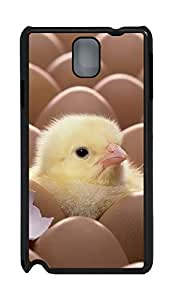 Samsung Note 3 Case Cute Chicks 02 PC Custom Samsung Note 3 Case Cover Black WANGJING JINDA
