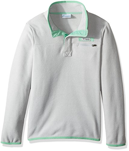 Columbia Harborside Fleece, Cool Grey Heather, Large (Columbia Packed Out)