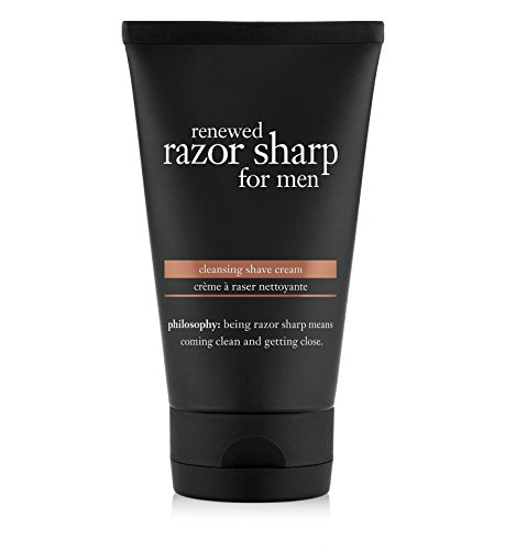 Price comparison product image philosophy renewed razor sharp for men cleansing shave cream, 5 fl. oz