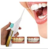 portable air power - Easyinsmile Portable Power Floss Dental Water Jet Cords Tooth Pick without Batteries-dental Care Oral Irrigator or Air Floss Water Pick