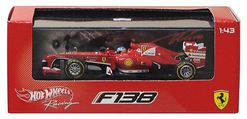 43rd Scale - Ferrari F138 Fernando Alonso 1:43rd Scale Hotwheels