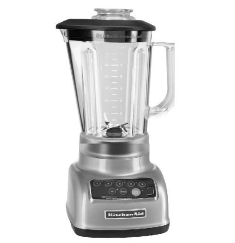 KitchenAid 5-Speed Blender RRKSB1570QG, 56-Ounce, Liquid Graphite (Certified Refurbished)