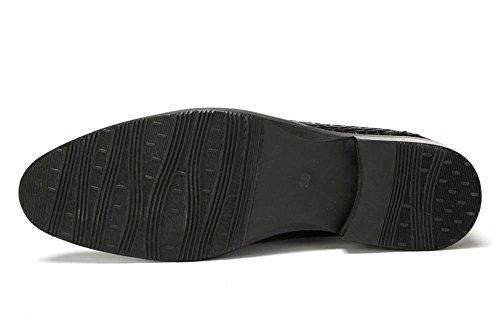 Uomini Allacciare Modello Pietra Formale XIE Nero Scarpe Vestito Attivit Nozze torello dxX8w0X