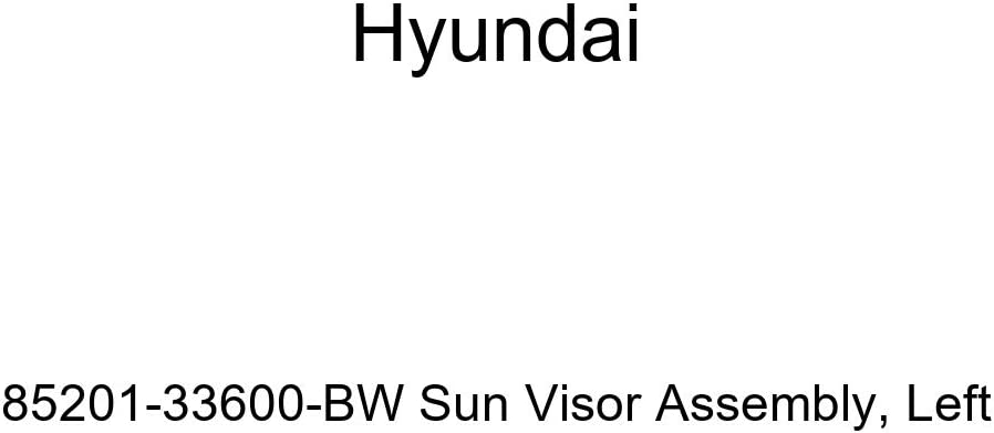 Genuine Hyundai 85201-33600-BW Sun Visor Assembly Left