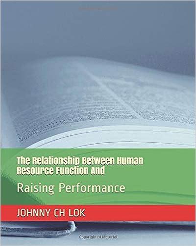 Descargar El Torrent The Relationship Between Human Resource Function And: Raising Performance PDF Libre Torrent