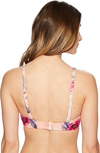 Seafolly Women's ModernLove F-Cup Halter Top Peach 6 US by Seafolly (Image #2)