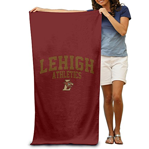 "Lehigh University Lehigh Mountain Hawks Logo 31.5""51""Pool Beach Towel"