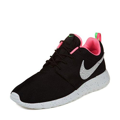 Nike Hombres Size? Rosherun Urban Safari Black / Stadium Grey-gigital Pink Mesh Running, Cross Trainers Talla 10