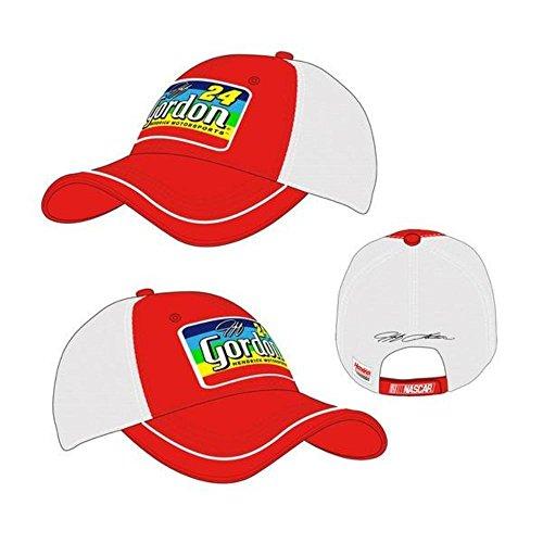 Jeff Gordon Unisex #24 Axalta Rainbow Patch Trucker Hat One Size Fits All (Jeff Gordon Light)