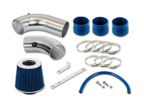 R&L Racing Blue Short Ram Air Intake Kit + Filter 99-03 Mazda Protege MP5 5 1.8 2.0