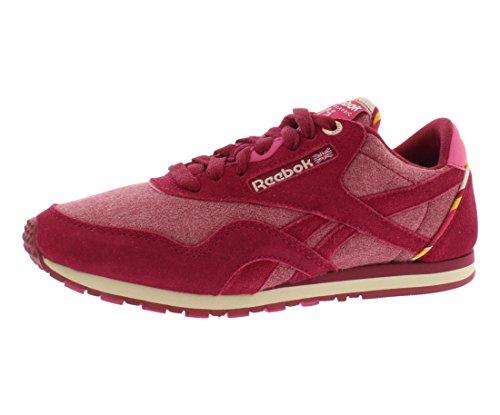 Reebok CLASSIC SLIM NYLON J Womens Athletic Casual Shoes Womens size 6.5