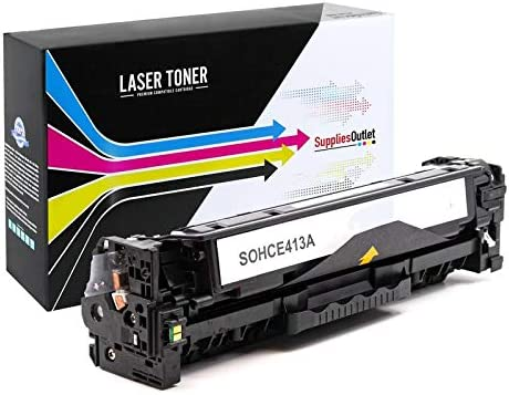 SuppliesOutlet Compatible Toner Cartridge Replacement for HP 305A Magenta,1 Pack CE413A