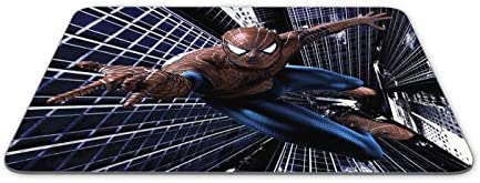 JNKPOAI Spider Man Mouse Pad Marvel Mouse Pad Square Rubber Office Mouse Pad