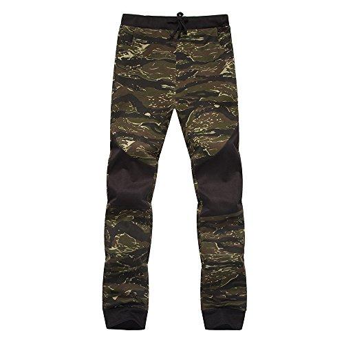 Mode Imprimé Gris Pants Vert Rouge Militaire Jaune Denim Homme Sweatpants xxl M Trousers Fantaisiez Pantalons Camouflage Combat Hommes Décontracté PSZ1Sn