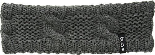 Bula Women's Lulu Earband Heathered Grey One (Knit Earband)