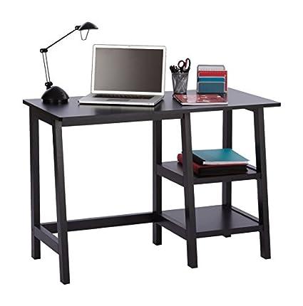 Amazon.com : OfficeMax Donovan Student Desk, Black OMO3739 : Office ...