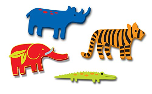Zoo Animal Knobs, Set of 4