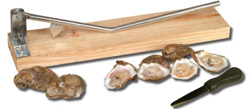 King Kooker 5500 Stainless Steel Oyster Opener, with Oyster - Fish Oysters