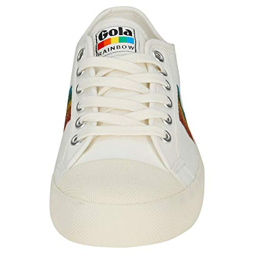 Gola Womens Rainbow Coaster Trainers Glitter rRXr6a