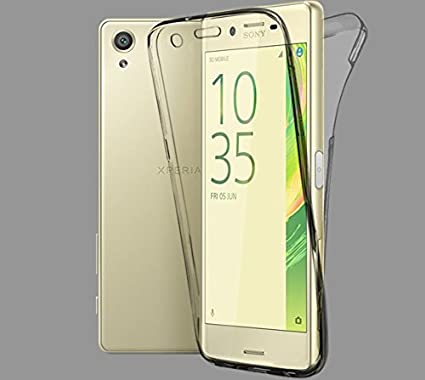 check out af424 2bdb2 Sony Xperia XA Case All Round 360 Protective Case Cover Transparent