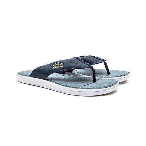 Lacoste - Sandalias de Piel para hombre Azul azul