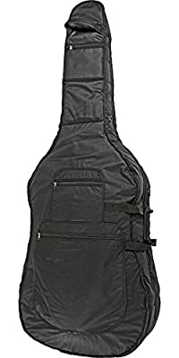 Bellafina Deluxe Bass Bag Black 3/4 Size
