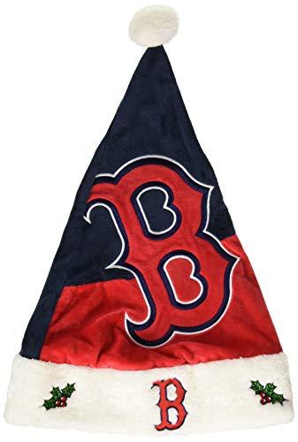- FOCO MLB Boston Red Sox Mens Basic Santa HatBasic Santa Hat, Team Color, One Size