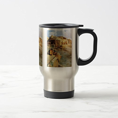 Zazzle An Indian Pueblo Laguna New Mexico - 1906 Coffee Mug, Stainless Steel Travel/Commuter Mug 15 - Laguna Steel Mug Stainless