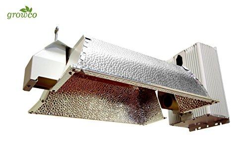 Grow Co. 630W Ceramic Metal Halide CMH Fixture w/ 240v Cord