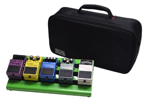 - Gator Cases Aluminum Guitar Pedal Board with Carry Bag; Small: 15.75