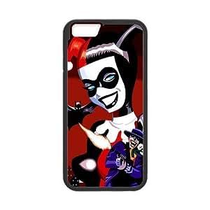 Pink Ladoo? iPhone 6 Case Phone Cover Hard Plastic Joker And Harley Quinn Batman