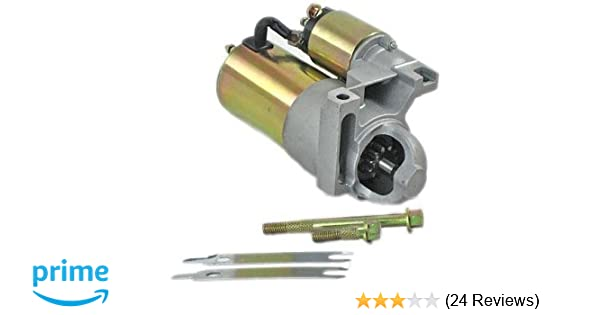 amazon com: new chevy mini starter fits 283 327 350 396 454 fits 153 tooth  flywheel 10461445 straight mount: automotive