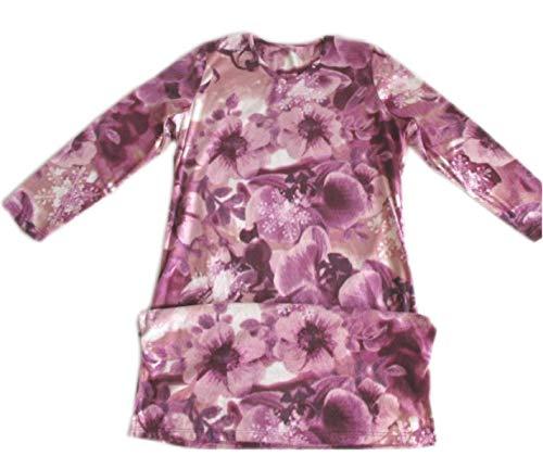 Loungewear Moda Baño Pijama Traje Lana Ocasional Transpirable De Vestido Estilo Bata Damas Suave Acogedoras Purple Púrpura Lujo Especial Impreso HZvxq8