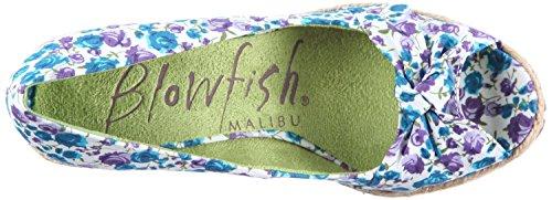 col Blowfish susi tacco Flower Scarpe Purple Viola Vamamo purple Susi flower Viola donna HrwqBEx6Wr
