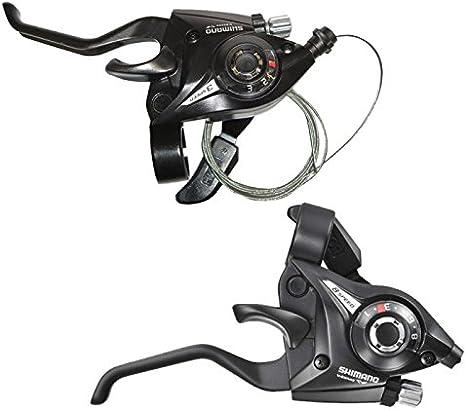 SHIMANO MTB Bicycle Brake Levers Set Brake Shifter Shift 3x8 24 Speed ST-EF51-8