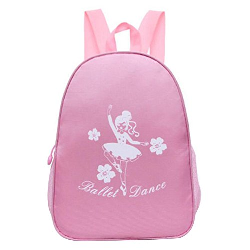 George Jimmy Kids Dance Bags Travel Backpack School Bags Girls Backpacks Dancing Bag Pink by George Jimmy
