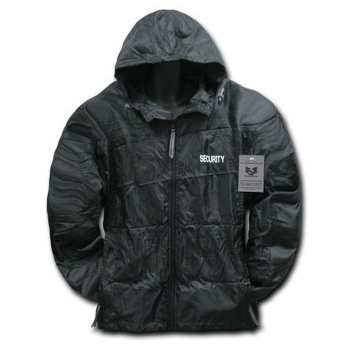 Rapiddominance Security Solid Windbreaker, Black, (Security Windbreaker)