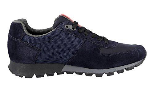 Prada 4e2700 Os5 F0008, Herren Sneaker