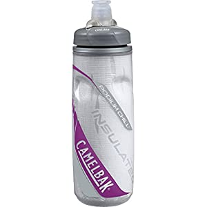 CamelBak Trinkflasche Podium Chill 610, (White and Purple) 52304 by Camelbak