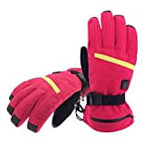 Aroma Season Rechargeable Battery Heated Gloves for Men and Women, Battery Powered Winter
