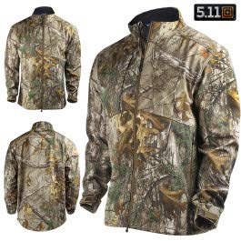 (5.11 Men's Realtree Sierra Soft-Shell Jacket, Realtree Xtra,)
