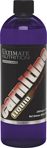 Ultimate Nutrition Platinum Series - Ultimate Nutrition Platinum Series, Carnitine Liquid, 12 Ounce Bottle