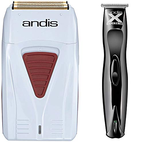 Andis 17150 Profoil Lithium Shaver & Andis Experience Cordless T Trimmer