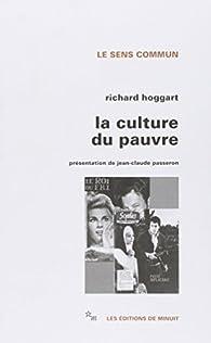 La culture du pauvre par Richard Hoggart