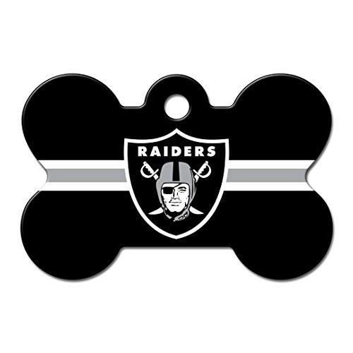 Pet Care Preferred Oakland Raiders Bone ID Tag