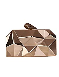 Women Clutches Evening Clutch Metal Clutch Purse Chain Handbag for Cocktail Party