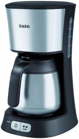 AEG ErgoSense KF 5255 - Cafetera eléctrica (recipiente térmico de acero inoxidable, selección de aroma): Amazon.es: Hogar
